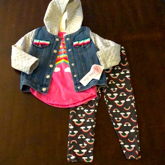 Cute girls 3pc outfit NWT